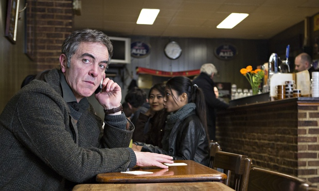 James Nesbitt as the anguished Tony, in a rare uncontorted moment in The Missing. Photograph: Jules