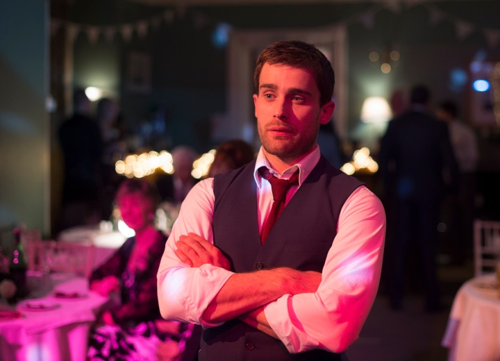 Programme Name: Stonemouth - TX: n/a - Episode: n/a (No. 1) - Picture Shows:  Stewart (CHRISTIAN COOKE) - (C) BBC - Photographer: Graeme Hunter