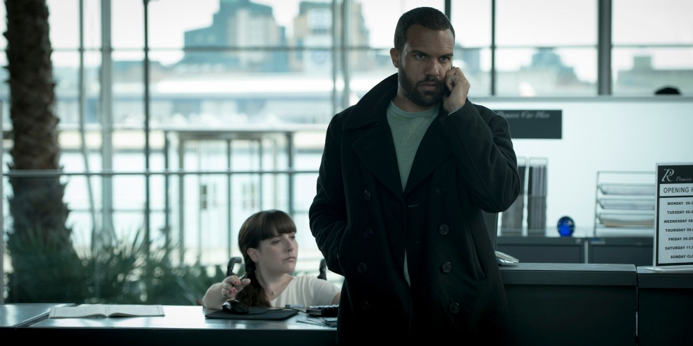 Programme Name: The Interceptor - TX: n/a - Episode: n/a (No. 4) - Picture Shows:  Alison (LISA HAMMOND), Ash (OT FAGBENLE) - (C) BBC - Photographer: Des Willie