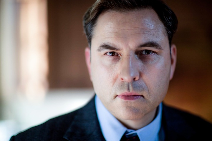 Programme Name: Partners In Crime - TX: 26/07/2015 - Episode: 1 (No. 1) - Picture Shows: David Walliams (as Tommy Beresford) Episode One: 'The Secret Adversary' Tommy Beresford (DAVID WALLIAMS) - (C) Endor Productions - Photographer: Laurence Cendrowicz