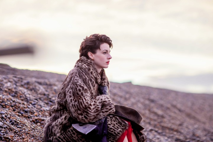 Programme Name: Partners In Crime - TX: 30/08/2015 - Episode: 6 (No. 6) - Picture Shows: Episode Six BTS: 'N or M?' Tuppence Beresford (JESSICA RAINE) - (C) Endor Productions - Photographer: Laurence Cendrowicz