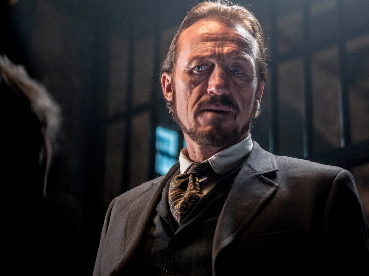 Programme Name: Ripper Street - TX: n/a - Episode: n/a (No. 3) - Picture Shows:  Detective Sergeant Bennet Drake (JEROME FLYNN) - (C) Tiger Aspect 2014 - Photographer: Bernard Walsh