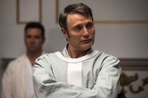"HANNIBAL -- ""The Number of the Beast is 666"" Episode 312 -- Pictured: Mads Mikkelsen as Hannibal Lecter -- (Photo by: Brooke Palmer/NBC)"