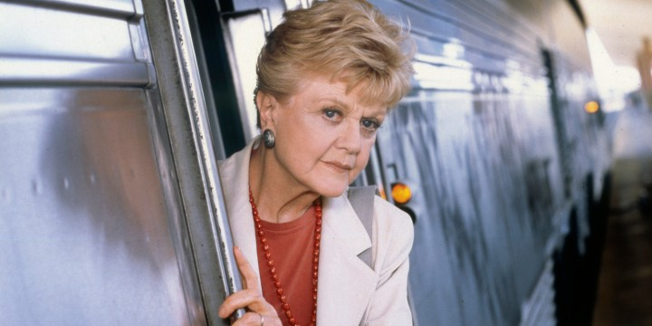 MURDER, SHE WROTE: SOUTH BY SOUTHWEST -- Pictured: Angela Lansbury as Jessica Fletcher -- (Photo by: Randy Marcus/NBC/NBCU Photo Bank via Getty Images)