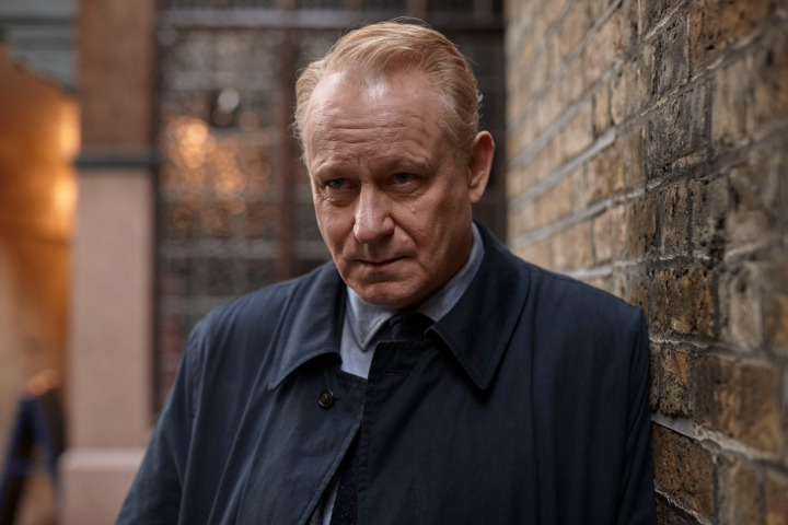 WARNING: Embargoed for publication until 20/10/2015 - Programme Name: River - TX: n/a - Episode: River (No. Ep 3) - Picture Shows: **STRICTLY EMBARGIED UNTIL 00:01HRS, TUESDAY 20TH OCTOBER, 2015** John River (STELLAN SKARSGARD) - (C) Kudos - Photographer: Nick Briggs