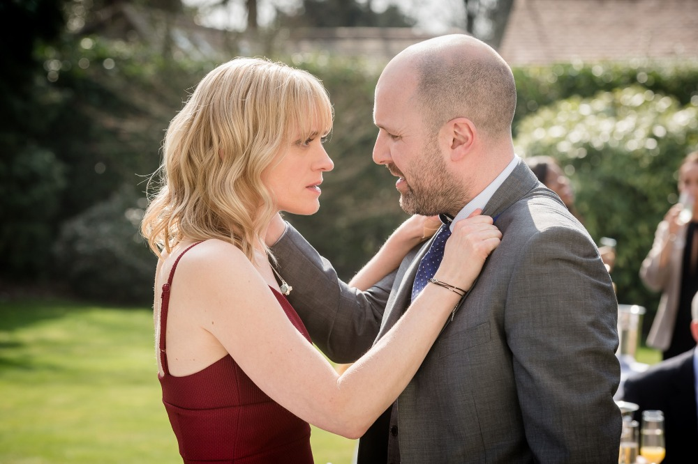 Programme Name: From Darkness - TX: n/a - Episode: n/a (No. 3) - Picture Shows: Claire Church (ANNE-MARIE DUFF), John Hind (JOHNNY HARRIS) - (C) BBC - Photographer: Ben Blackall