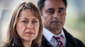 MAINSTREET PICTURES FOR ITV UNFORGOTTEN EPISODE 1 Pictured : NICOLA WALKER as DCI Cassie Stuart and SANJEEV BHASKAR as DS Sunil Khan. Photographer: JOHN ROGERS This image is the copyright of ITV and must be credited. The images are for one use only and to be used in relation to UNFORGOTTEN, any further usage could incur a fee.