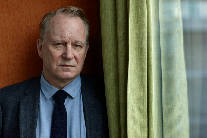 WARNING: Embargoed for publication until 00:00:01 on 18/08/2015 - Programme Name: River - TX: n/a - Episode: River (No. Generics) - Picture Shows: John River (STELLAN SKARSGARD) - (C) Kudos - Photographer: Nick Briggs