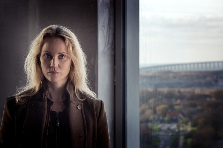 Programme Name: The Bridge - TX: n/a - Episode: The Bridge - series 3 - ep 1 (No. 1) - Picture Shows: Saga Norén (SOFIA HELIN) - (C) Carolina Romare - Photographer: Carolina Romare