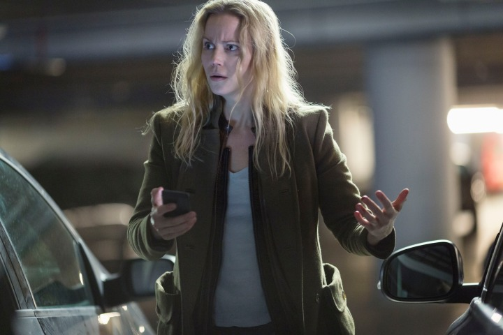 Programme Name: The Bridge - TX: n/a - Episode: The Bridge - series 3 - ep 2 (No. 2) - Picture Shows: Saga Norén (SOFIA HELIN) - (C) Filmlance International AB - Photographer: Carolina Romare