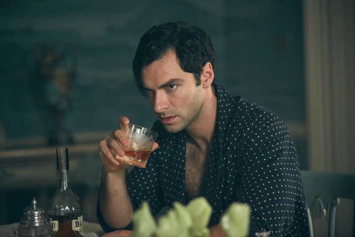 WARNING: Embargoed for publication until 00:00:01 on 03/12/2015 - Programme Name: And Then There Were None - TX: n/a - Episode: n/a (No. 2) - Picture Shows:  Philip Lombard (AIDEN TURNER) - (C) Mammoth Screen - Photographer: Robert Viglasky