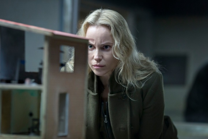 Programme Name: The Bridge - TX: 19/12/2015 - Episode: The Bridge - series 3 - ep 9 (No. 9) - Picture Shows: *Please credit photographer: Carolina Romare Saga Norén (SOFIA HELIN) - (C) Filmlance International AB - Photographer: Carolina Romare