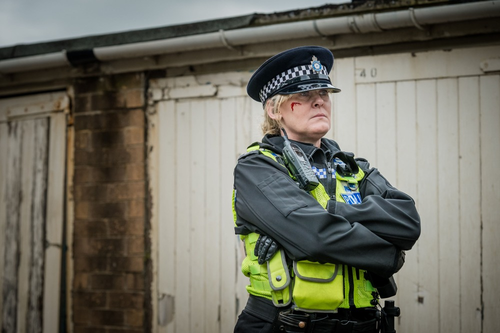 WARNING: Embargoed for publication until 18:00:01 on 08/11/2015 - Programme Name: Happy Valley series 2 - TX: 01/01/2016 - Episode: n/a (No. n/a) - Picture Shows: **Early Release Image** Catherine (SARAH LANCASHIRE) - (C) Red Productions - Photographer: Ben Blackall