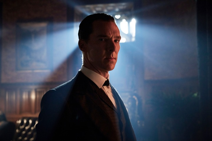 WARNING: Embargoed for publication until 00:00:01 on 24/11/2015 - Programme Name: Sherlock - TX: 01/01/2016 - Episode: The Abominable Bride (No. 1) - Picture Shows: **STRICTLY EMBARGOED FOR PUBLICATION UNTIL 24TH NOVEMBER 2015** Sherlock Holmes (BENEDICT CUMBERBATCH) - (C) Hartswood Films - Photographer: Robert Viglasky