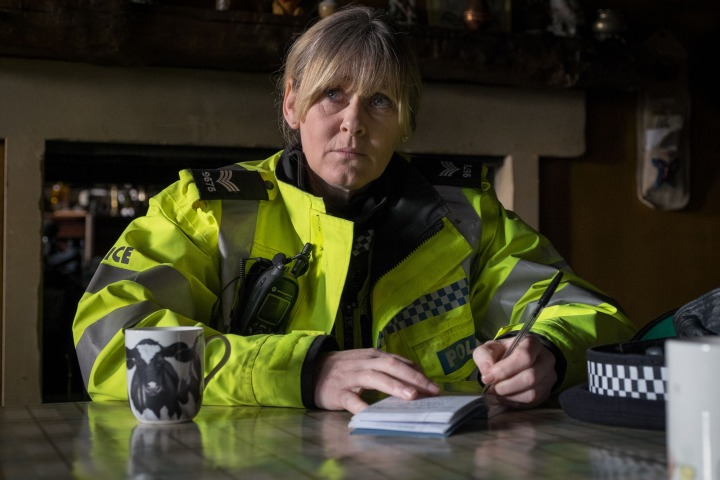 WARNING: Embargoed for publication until 00:00:01 on 02/02/2016 - Programme Name: Happy Valley series 2 - TX: n/a - Episode: n/a (No. 1) - Picture Shows: **EMBARGOED FOR PUBLICATION UNTIL TUESDAY 2ND FEBRUARY** Catherine (SARAH LANCASHIRE) - (C) Red Productions - Photographer: Matt Squire