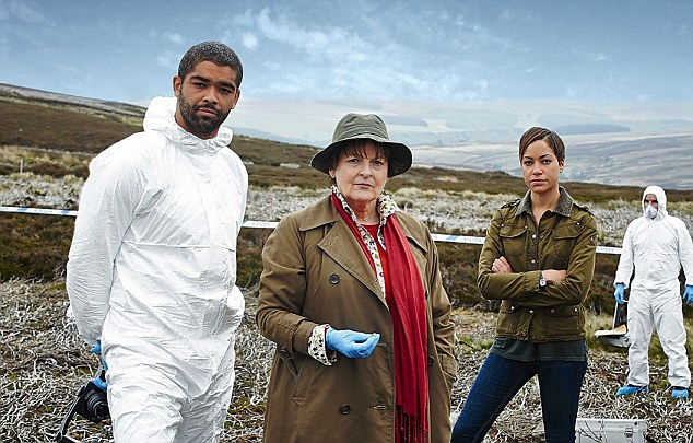 ITV STUDIOS PRESENTS VERA EPISODE 1 Pictured: KINGSLEY BEN-ADIR as DR Marcus Summer,BRENDA BELTHYN as DCI Vera Stanhope and CUSH JUMBO as DC Bethany Whelan. This image is the copyright of ITV.