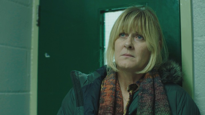 WARNING: Embargoed for publication until 00:00:01 on 01/03/2016 - Programme Name: Happy Valley series 2 - TX: n/a - Episode: n/a (No. 5) - Picture Shows: **EMBARGOED FOR PUBLICATION UNTIL 00:00 HRS ON TUESDAY 1ST MARCH** Catherine (SARAH LANCASHIRE) - (C) Red Productions - Photographer: Red Productions