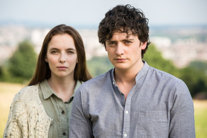 Programme Name: Thirteen - TX: n/a - Episode: n/a (No. 2) - Picture Shows: Ivy Moxam (JODIE COMER), Tim (ANEURIN BARNARD) - (C) BBC - Photographer: Sophie Mutevelian