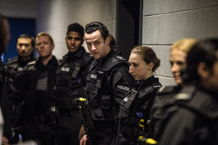 WARNING: Embargoed for publication until 00:00:01 on 15/03/2016 - Programme Name: Line of Duty - TX: n/a - Episode: n/a (No. 1) - Picture Shows:  Sgt Danny Waldron (DANIEL MAYS) - (C) World Productions - Photographer: Steffan Hill
