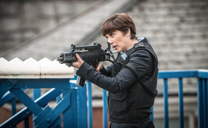 WARNING: Embargoed for publication until 00:00:01 on 19/04/2016 - Programme Name: Line of Duty - TX: n/a - Episode: n/a (No. 6) - Picture Shows:  Detective Constable Kate Fleming (VICKY McCLURE) - (C) World Productions - Photographer: Mark Bourdillon
