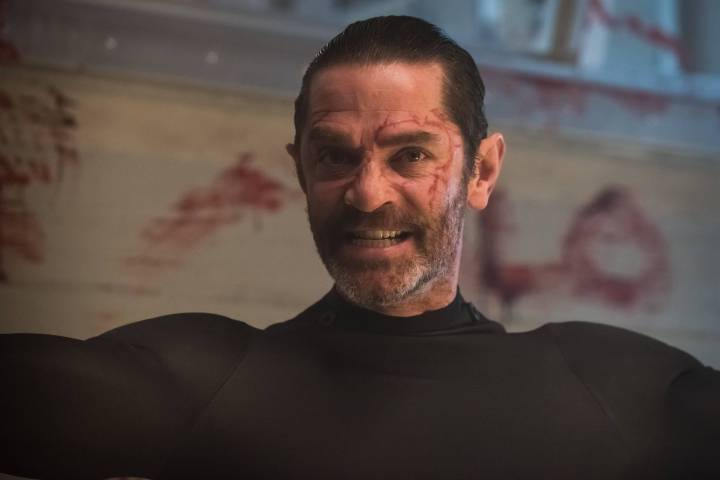 "GOTHAM:  James Frain in the ""Wrath of the Villains: Azrael"" episode of GOTHAM airing Monday, April, 25 (8:00-9:01 PM ET/PT) on FOX. ©2016 Fox Broadcasting Co. Cr: Jeff Neumann/FOX"