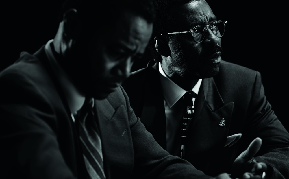 THE PEOPLE v. O.J. SIMPSON: AMERICAN CRIME STORY -- Pictured: Courtney B. Vance as Johnnie Cochran CR: Michael Becker/FX Networks