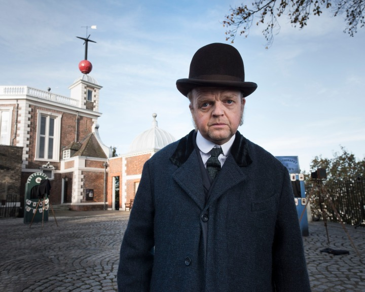 Programme Name: The Secret Agent - TX: n/a - Episode: n/a (No. n/a) - Picture Shows:  Verloc (Toby Jones) - (C) World Productions - Photographer: Des Willie