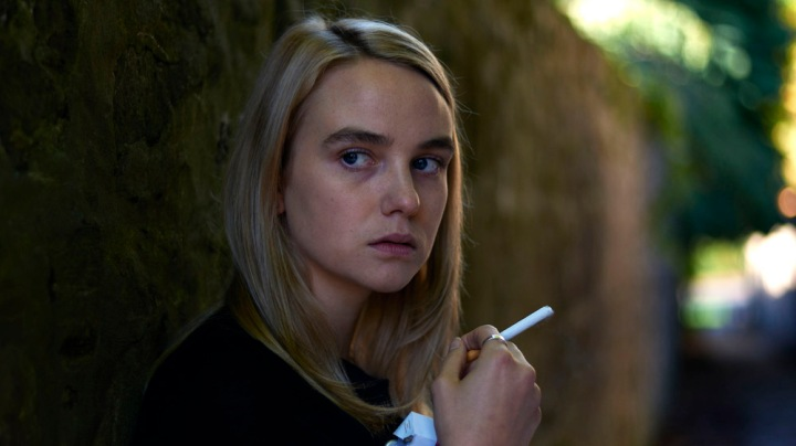 WARNING: Embargoed for publication until 00:00:01 on 30/08/2016 - Programme Name: One of Us - TX: 06/09/2016 - Episode: n/a (No. 3) - Picture Shows:  Claire Elliot (JOANNA VANDERHAM) - (C) BBC - Photographer: Hal Shinnie