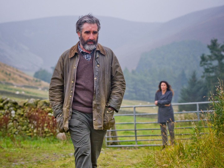 WARNING: Embargoed for publication until 00:00:01 on 06/09/2016 - Programme Name: One of Us - TX: 13/09/2016 - Episode: n/a (No. 4) - Picture Shows:  Bill Douglas (JOHN LYNCH), Moira Douglas (JULIE GRAHAM) - (C) BBC - Photographer: Alan Peebles