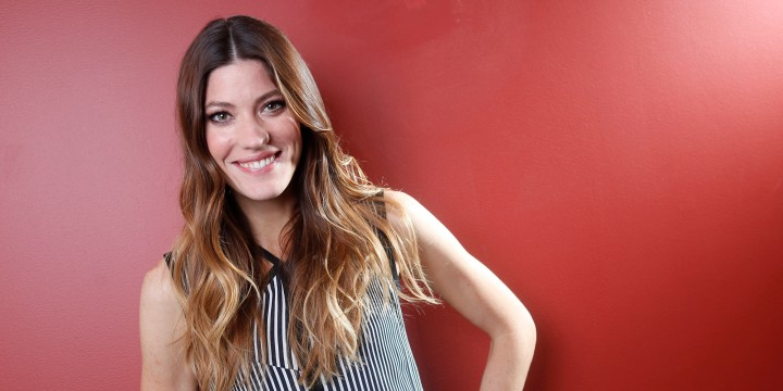 "American actress Jennifer Carpenter poses for a portrait on Friday, Oct. 26, 2012 in New York. Carpenter stars as Miami Police Lt. Debra Morgan on the Showtime series, ""Dexter."" (Photo by Carlo Allegri/Invision/AP)"
