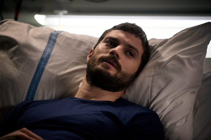 WARNING: Embargoed for publication until 23:00:01 on 06/10/2016 - Programme Name: The Fall - TX: 13/10/2016 - Episode: Episode 3 (No. 3) - Picture Shows:  Paul Spector (JAMIE DORNAN)  - (C)  The Fall 3 Ltd - Photographer: Helen Sloan