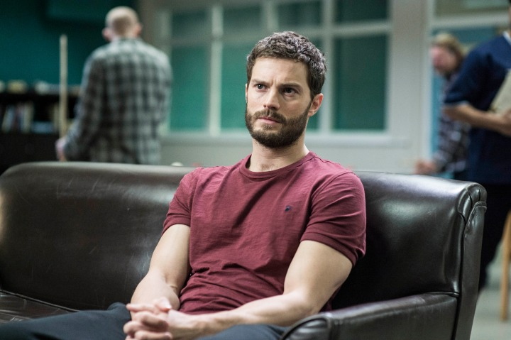 WARNING: Embargoed for publication until 00:00:01 on 18/10/2016 - Programme Name: The Fall - TX: n/a - Episode: n/a (No. 6) - Picture Shows: *Embargoed until 00.01 18th October 2016* Paul Spector (JAMIE DORNAN)  - (C) The Fall 3 Ltd - Photographer: Helen Sloan