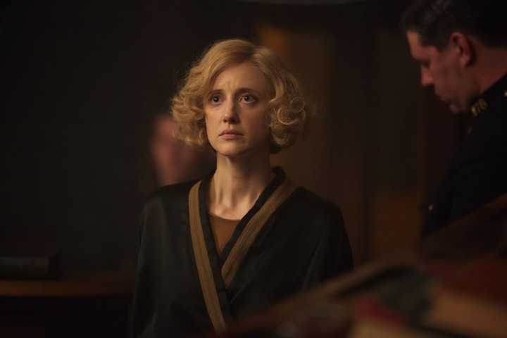 WARNING: Embargoed for publication until 00:00:01 on 03/12/2016 - Programme Name: The Witness for the Prosecution - TX: n/a - Episode: Witness For The Prosecution (No. n/a) - Picture Shows: This image is under strict embargo 3rd December 2016 00.01 Romaine Heilger (ANDREA RISEBOROUGH) - (C) BBC - Photographer: Milk