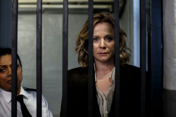 Programme Name: Apple Tree Yard - TX: 05/02/2017 - Episode: Apple Tree Yard - Ep3 (No. 3) - Picture Shows: Yvonne Carmichael (EMILY WATSON) - (C) Kudos - Photographer: Nick Briggs