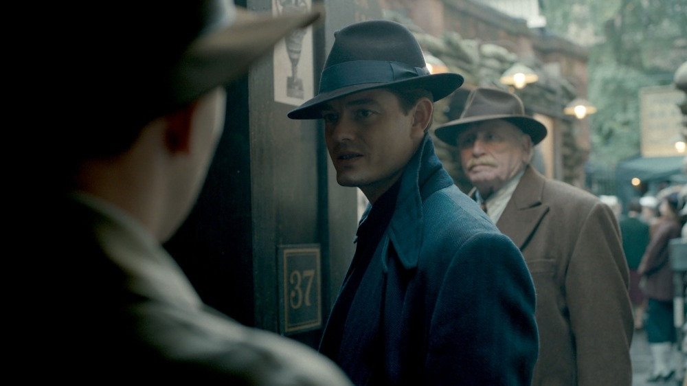 WARNING: Embargoed for publication until 00:00:01 on 31/01/2017 - Programme Name: SS-GB - TX: n/a - Episode: SSGB - Early Release (No. n/a) - Picture Shows: Episode 1 Detective Superintendent Douglas Archer (SAM RILEY), Harry Woods (JAMES COSMO) - (C) Sid Gentle Films Ltd - Photographer: Screen Grab