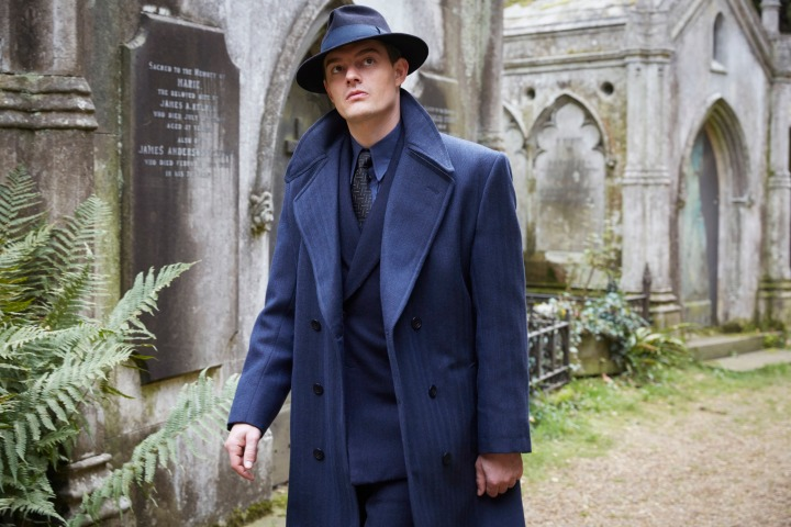Programme Name: SS-GB - TX: n/a - Episode: n/a (No. 3) - Picture Shows: Detective Superintendent Douglas Archer (SAM RILEY) - (C) Sid Gentle Films Ltd - Photographer: Laurie Sparham